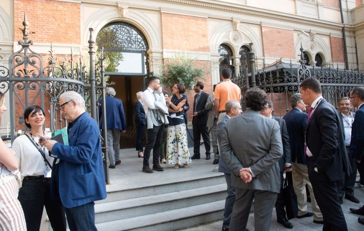 Networking at Movement Matters Bologna